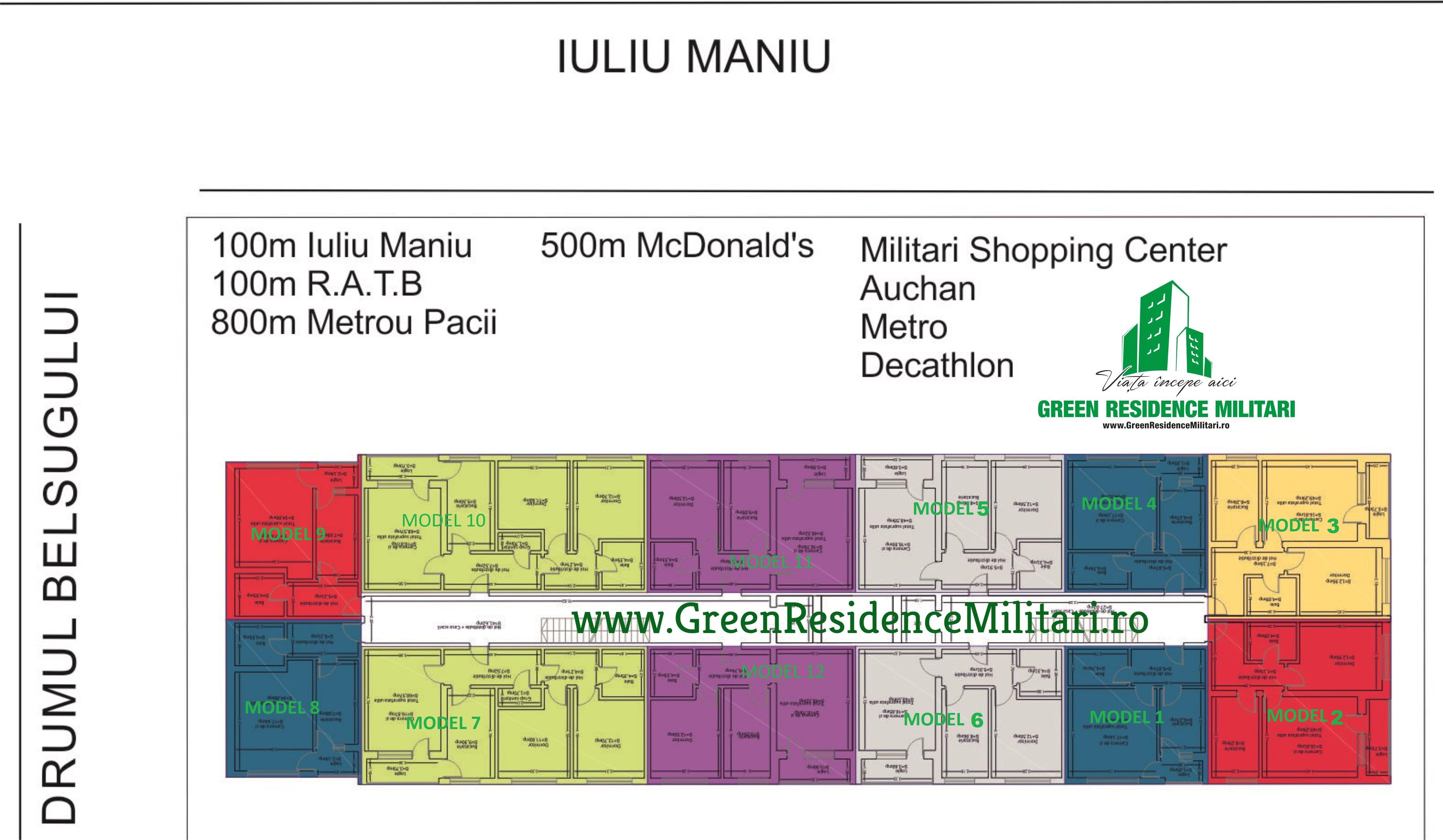 Bloc 6 – 2019 Bloc nou Green Residence Militari Belsugului